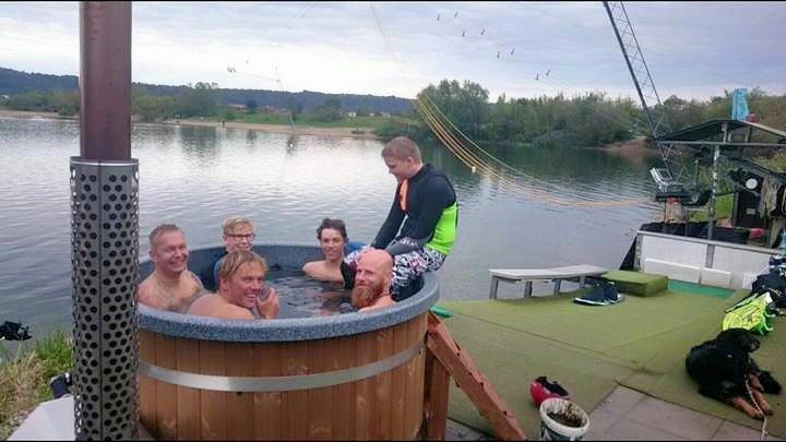 Sport Und Spass Mit Badefass 18